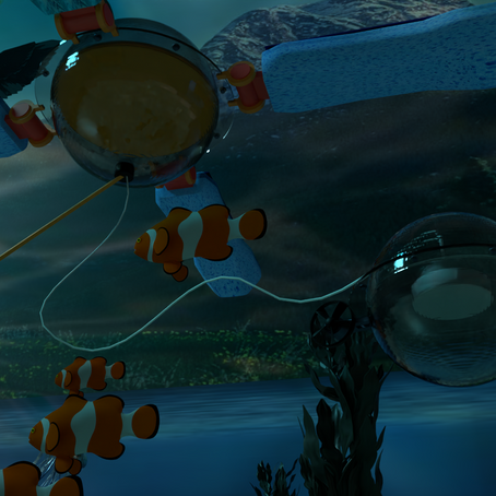 La mer II: la bouée