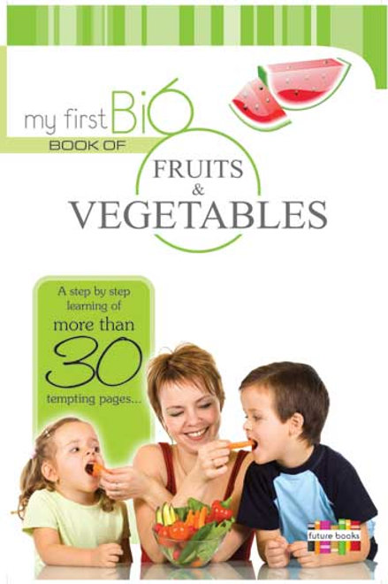 My First Big Book Of Fruits & Vegetables