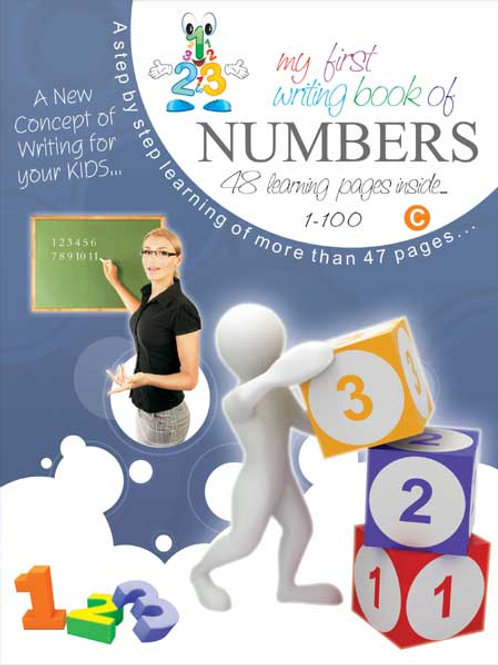 My First Writing Book-Numbers – 1-100 (C)