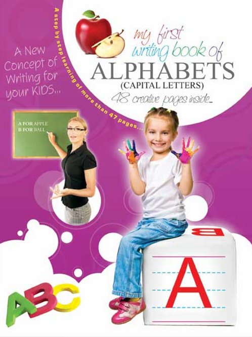 My First Writing Book-Alphabet -Capital Letters (A)