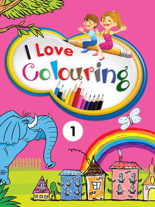 I Love Colouring 1