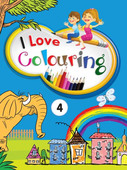 I Love Colouring 4