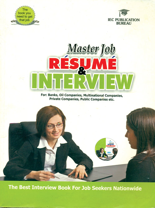 Master Job Resume and Interview