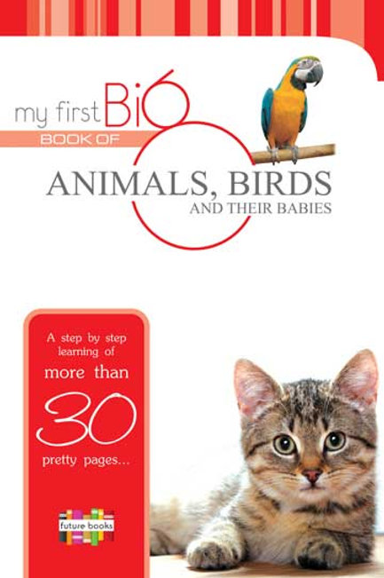 My First Big Book Of Animals , Birds & Their Babies