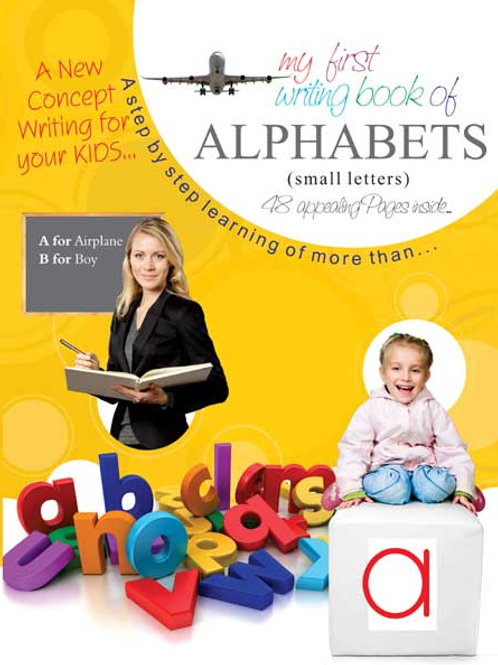 My Writing Book of Alphabets (Small Letter) B