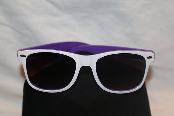 Purple/White SunGlasses