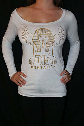 Womens Grey Long Sleeve