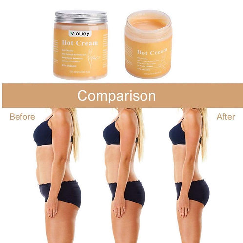 Fat Burner Hot Cream for Tightening Skin Body Shaper 8.8 oz