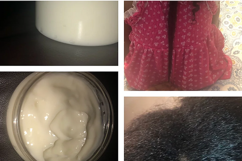 Curly hair lotion NATURAL INGREDIENTS 8oz for all hair types