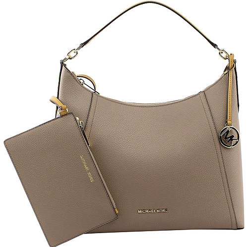 Khaki and gold Michael KORS handbag sets of 2
