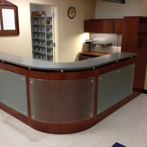 Glass Panel Desk