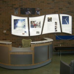 College Reception Desk