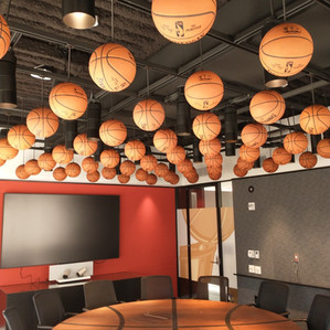 Basketball Ceiling