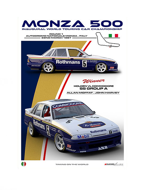HMSA 240: 1987 MONZA 500