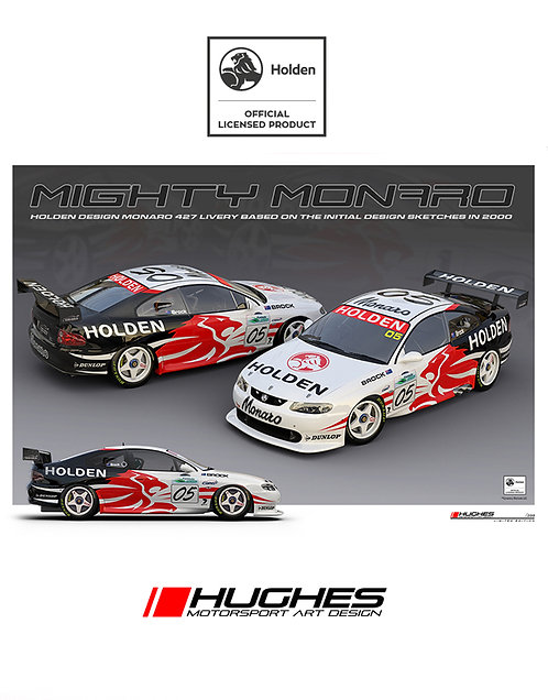 HMSA 258: Holden Design Mighty Monaro 427