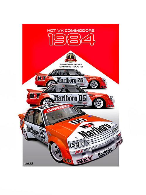 1984 BATHURST WINNER