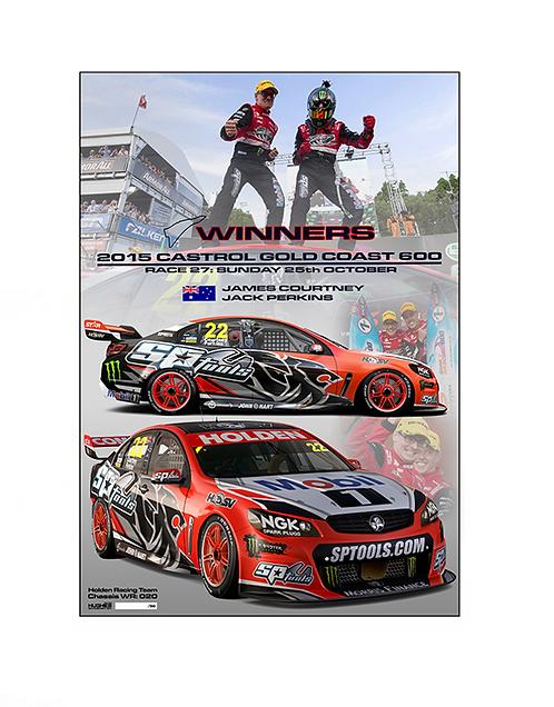 209: 2015 HRT Gold Coast 600 Winner