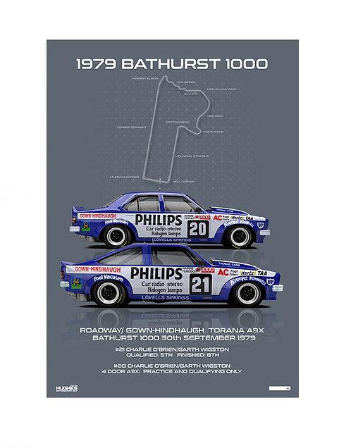 HMSA 166: 1979 Bathurst: Roadways/Gown-Hindhaugh