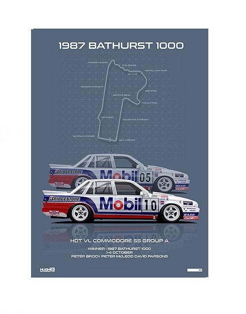 HMSA 148: 1987 BATHURST WINNER