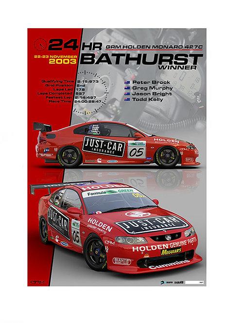2003 Bathurst 24hr Winner