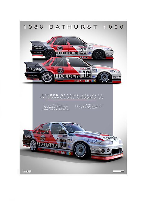 1988 BATHURST - HSV