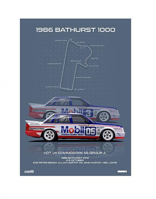 HMSA 147: Bathurst 1986 - HDT VK Commodores
