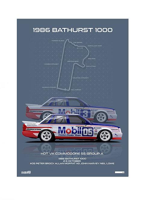 Bathurst 1986 - HDT VK Commodores