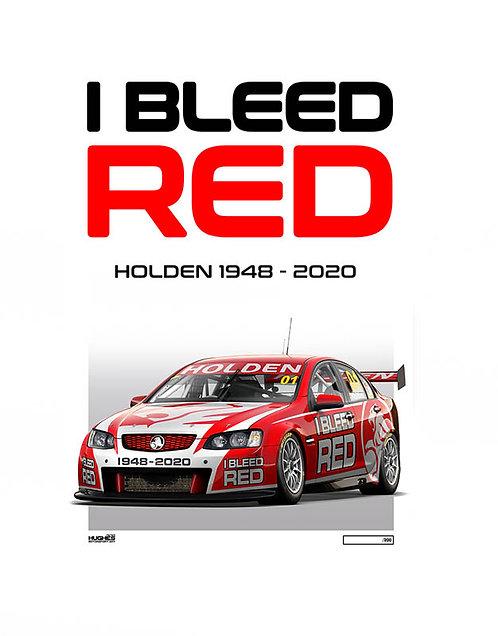 HMSA 198: I BLEED RED - 1948-2020