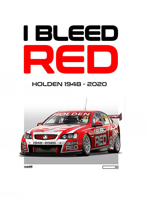 I BLEED RED - 1948-2020