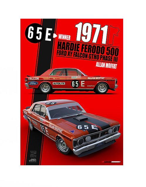 HMSA 253RE: 1971 BATHURST WINNER - Red Edition
