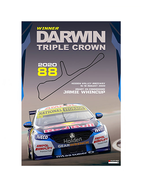 2020 DARWIN TRIPLE CROWN  JAMIE WHINCUP
