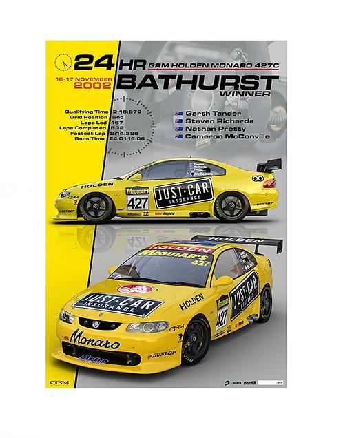 HMSA SL01 2002 Bathurst 24hr  Winner