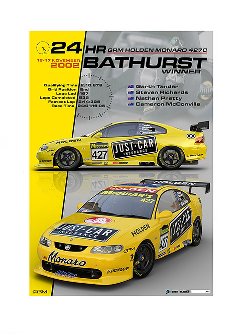 2002 Bathurst 24hr  Winner