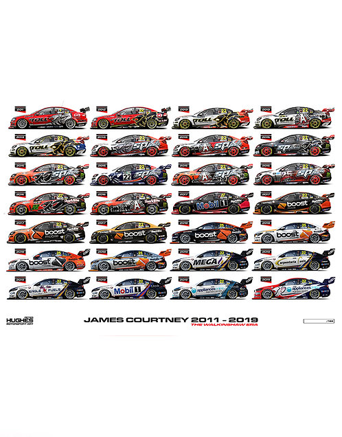 HMSA 192: JAMES COURTNEY 2011-2019