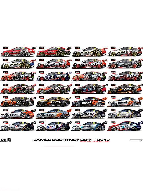JAMES COURTNEY 2011-2019