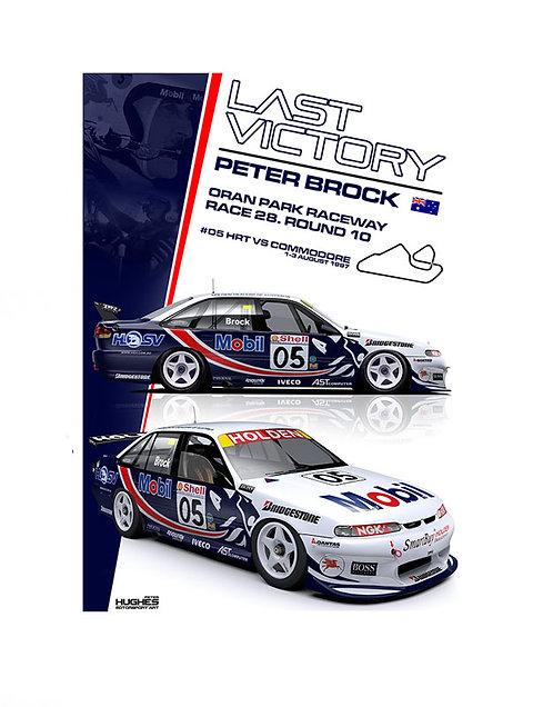 HMSA 145: 1997 Brock's Last Win