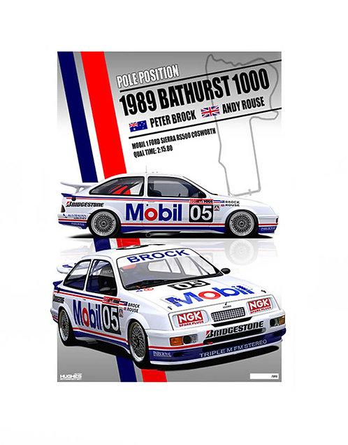 HMSA 151: 1989 Bathurst Pole. Sierra RS Cosworth