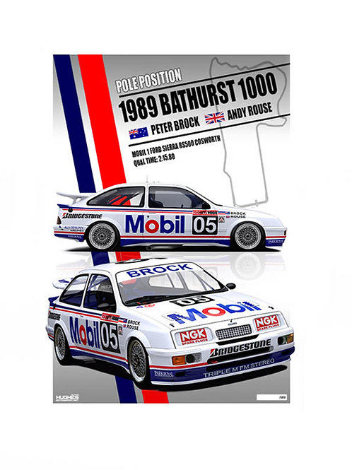 1989 Bathurst Pole. Sierra RS Cosworth