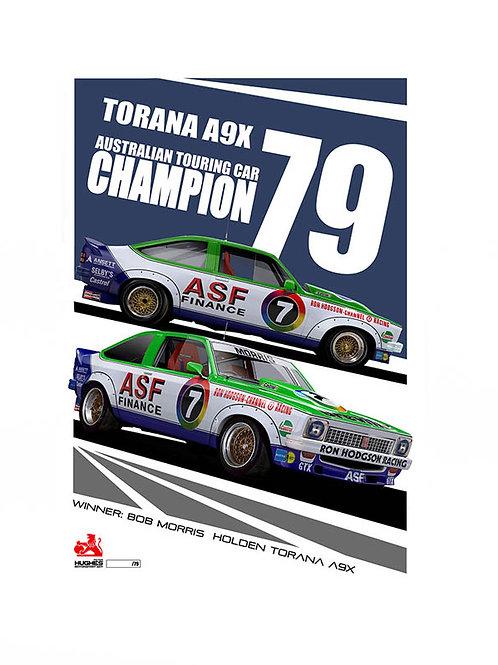 1979 ATCC . Bob Morris . A9X Torana