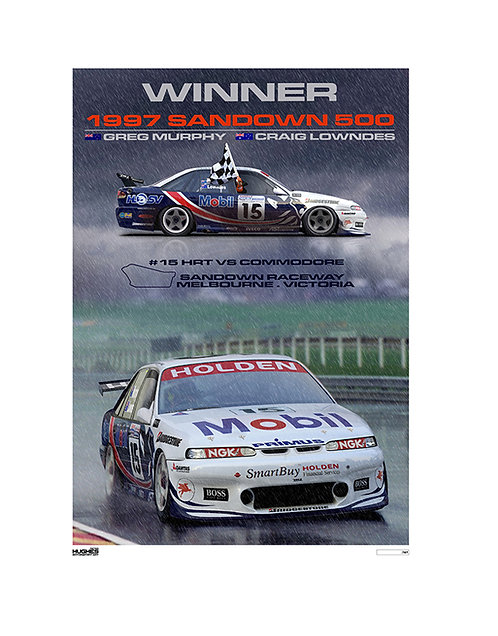 HMSA 207: 1997 SANDOWN 500 WINNER