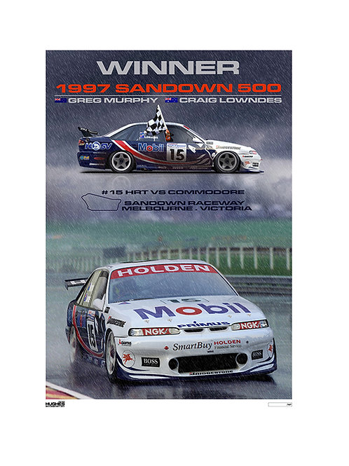 1997 SANDOWN 500 WINNER