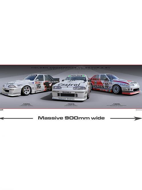 VL GROUP A SV  1988-1990