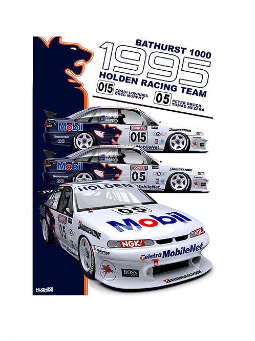 1995 HRT BATHURST Brock/Lowndes