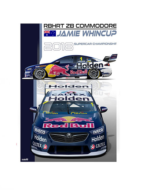 RBHRT 2018 - #1 JAMIE WHINCUP