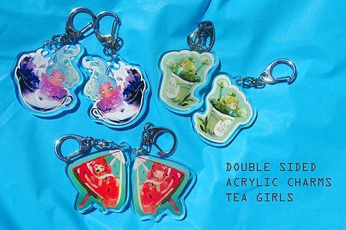Acrylic Keychains Drink Edition