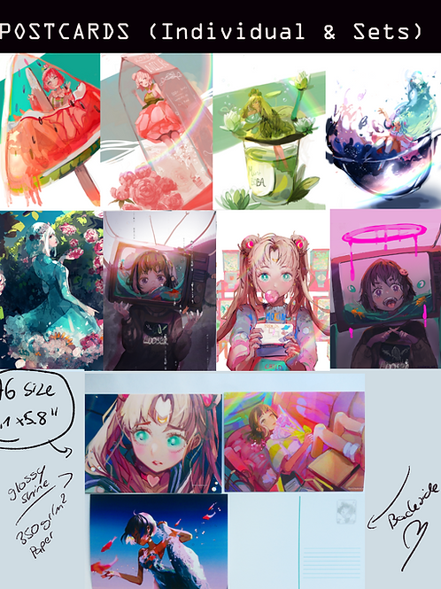 POSTCARDS (also available as Set)