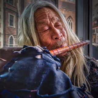 Le flutiste de shanghai