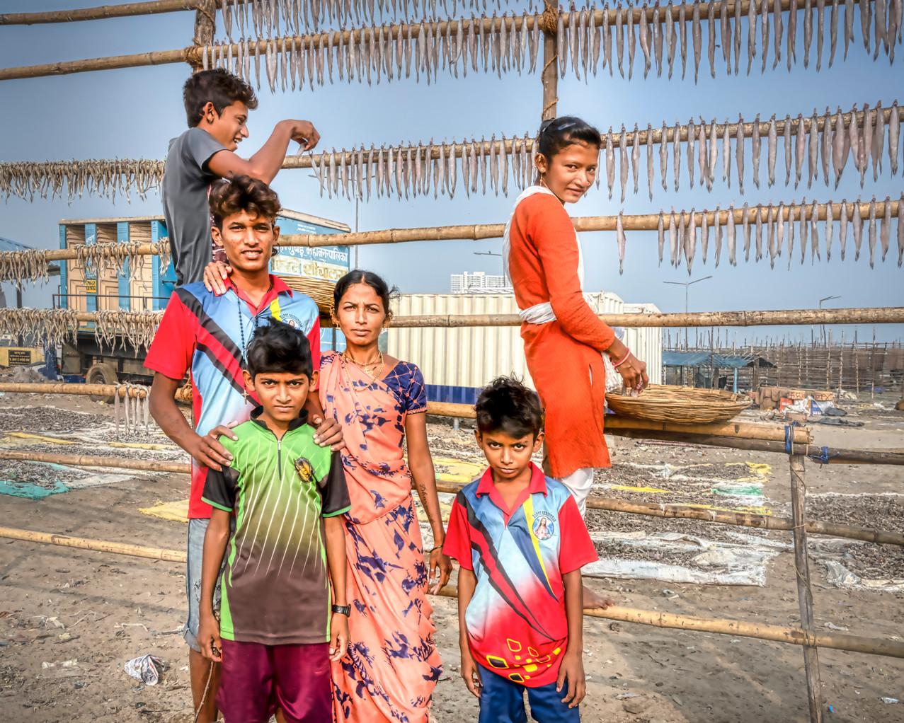 La famille de pêcheurs