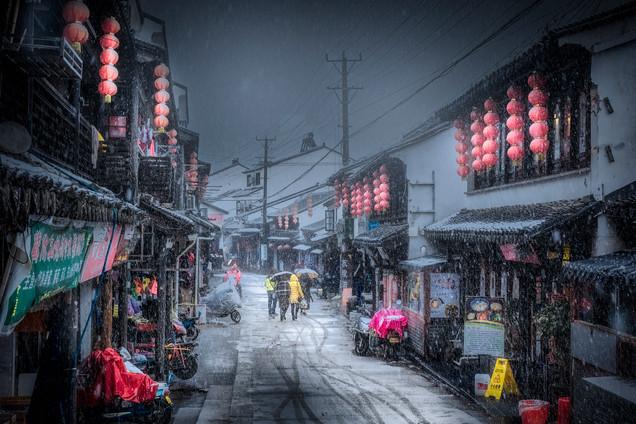 First snow in Suzhou-MAR_0823