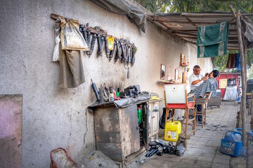 Barbier mécanicien